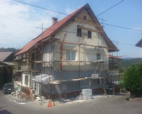 fasada v delu